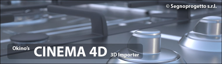 CINEMA 4D  c4d Import Converters & Translators by Okino