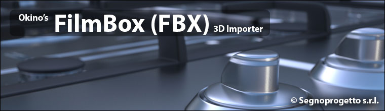 Okino's FBX (FilmBox) Import Converter & Translator for 3ds