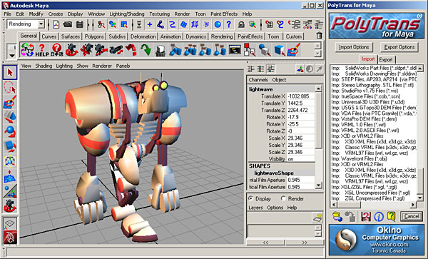 [Maya Screen Snapshot # 3]