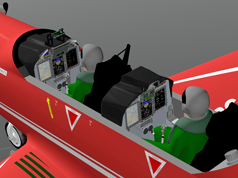 Okino Customer Case Studies - Pilatus Aircraft Company - Interaction