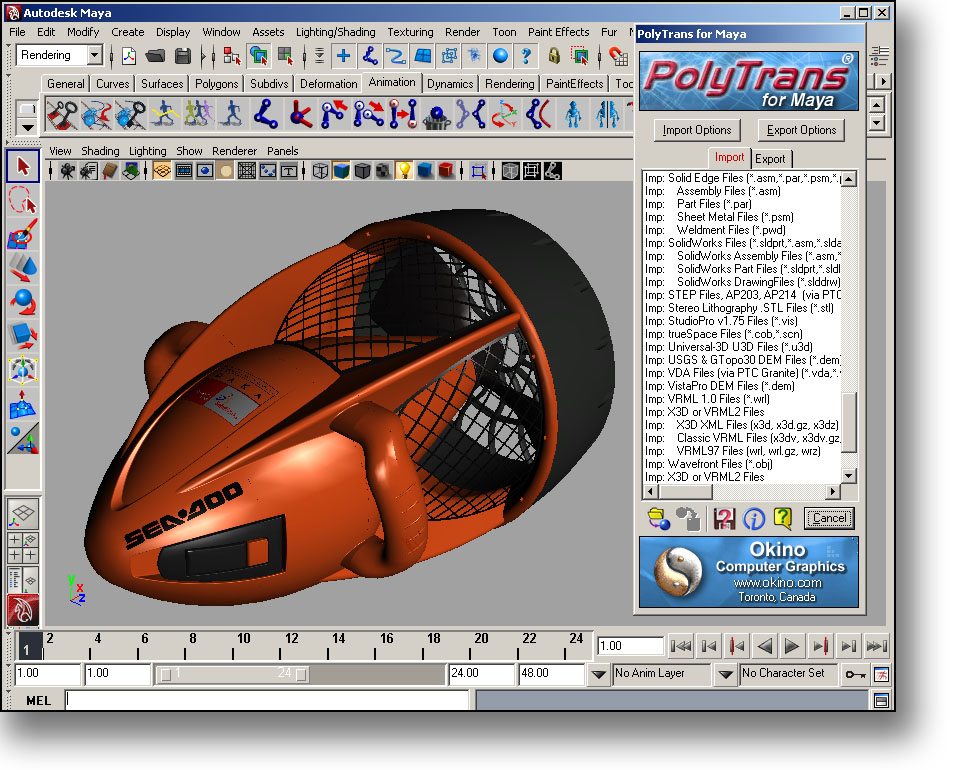 Convert and translate solidworks solid works cad files 3d cad software