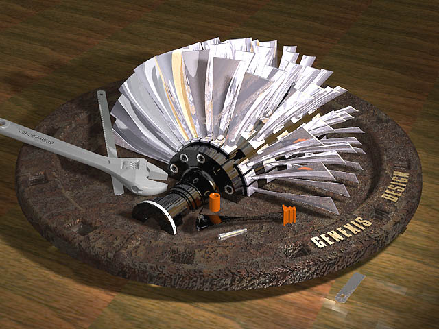 "MODEL TURBINE PLANS "" Power Turbine"