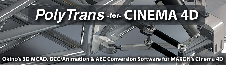 CINEMA 4D Conversion Banner